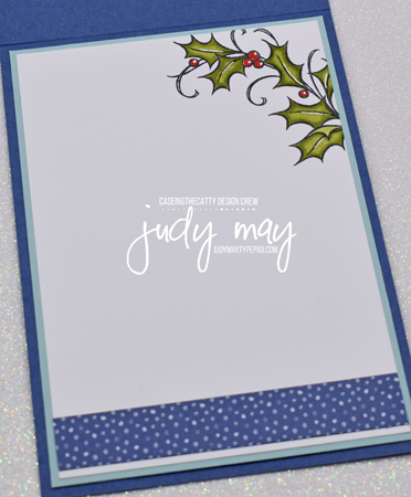 Stampin' Up! Joyful Holly - Judy May, Just Judy Designs, Melbourne