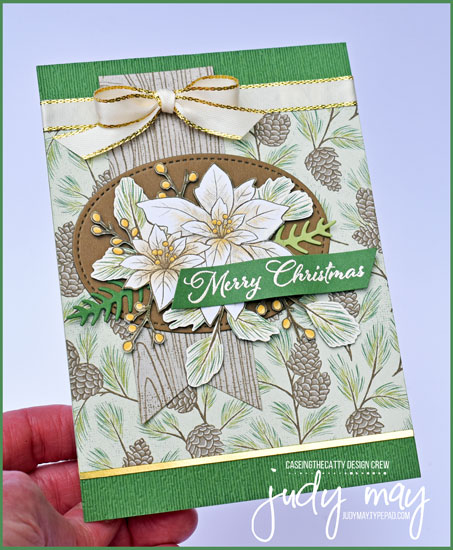 Stampin' Up! Poinsettia Petals Designer Paper - Judy May, Just Judy Designs, Melbourne
