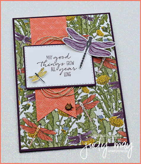 Stampin' Up! Dragonfly Garden Bundle - Judy May, Just Judy Designs, Melbourne