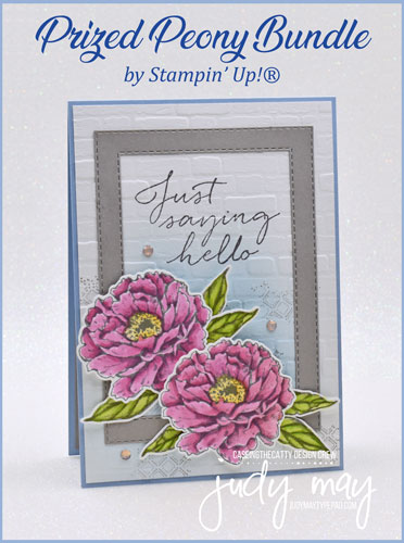 Stampin' Up! - Prized Peony Bundle - Judy May, Just Judy Designs, Melbourne