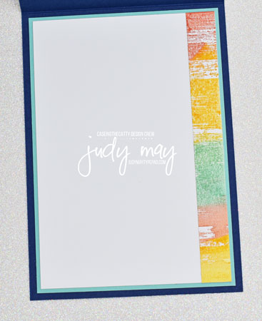 Stampin' Up! Drybrush with Tasteful Touches - Judy May, Just Judy Designs, Melbourne