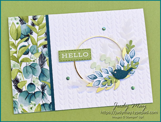 Stampin' Up! Forever Greenery Suite  - Judy May, Just Judy Designs, Melbourne