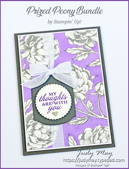 Stampin' Up! Prized Peony Bundle - Judy May, Just Judy Designs, Melbourne