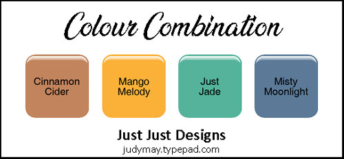 Cinnamon Cider Colour Combination - Judy May, Just Judy Designs, Melbourne