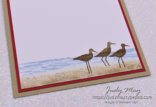 Stampin' Up! A Good Man Beach Birthday Card - Judy May, Just Judy Designs, Melbourne