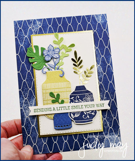 Stampin' Up! Boho Indigo Medley - Judy May, Just Judy Designs, Melbourne