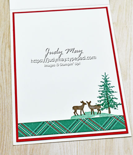 Stampin' Up! 'Tis The Season & Curvy Dies - Judy May, Just Judy Designs, Melbourne