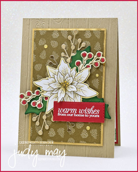 Stampin' Up! Poinsettia Place Suite - Judy May, Just Judy Designs, Melbourne