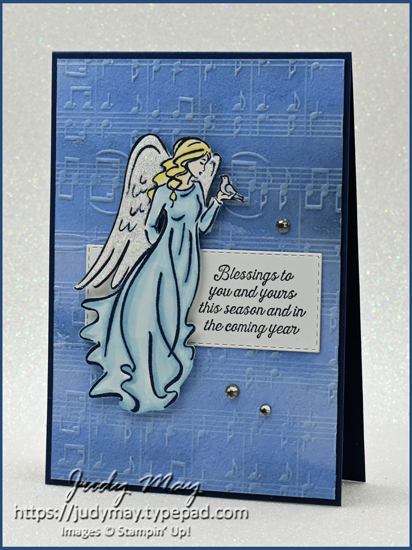 Stampin' Up! Angels of Peace   Judy May, Just Judy Designs