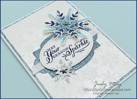 Stampin' Up! Snowflake Splendor Suite - Judy May, Just Judy Designs, Melbourne