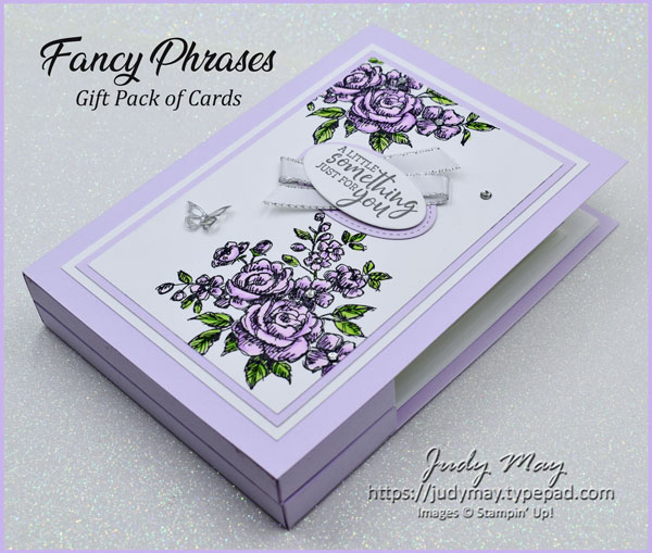 Stampin' Up! Fancy Phrases Gift Pack of Birthday Cards - Judy May, Just Judy Designs, Melbourne