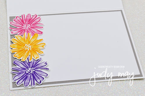 Stampin' Up! Color & Contour Bundle | Floral Birthday Card | Judy May, Just Judy Designs, Australia