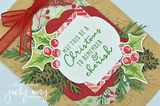 Stampin' Up! Painted Christmas Suite | Judy May, Just Judy Designs