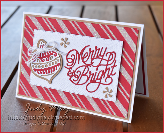 Stampin' Up! Gingerbread & Peppermint Suite | Judy May | Just Judy Designs
