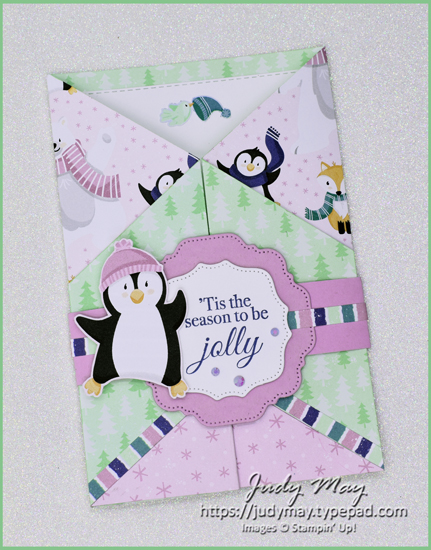 Stampin' Up! Penguin Playmates DSP - 2021 Sale-a-bration | Judy May, Just Judy Designs
