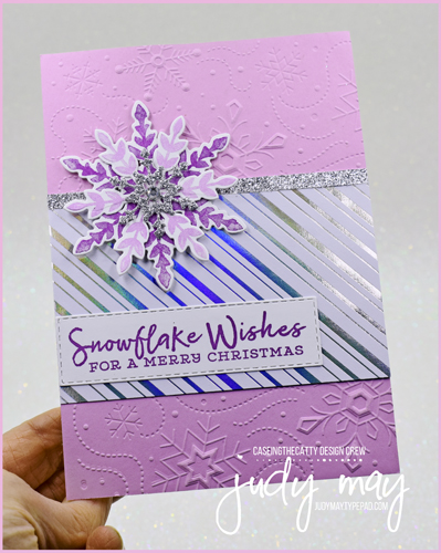 Stampin' Up! Snowflake Wishes Bundle | Judy May, Just Judy Designslake_Wishes