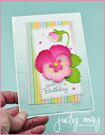 Stampin' Up! Pansy Patch Bundle | Judy May, Just Judy Designs